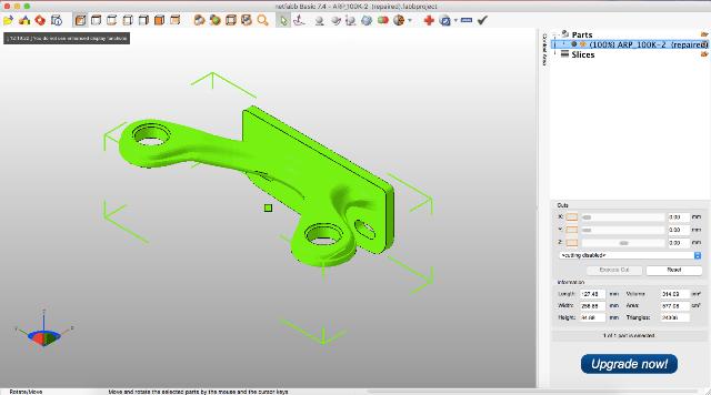 Как разрезать 3D-модель на составные части