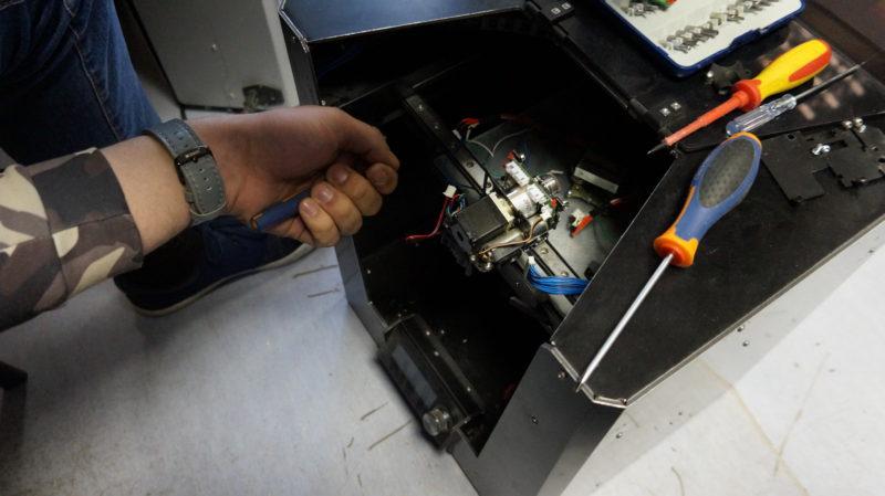 Ремонт 3D-оборудования
