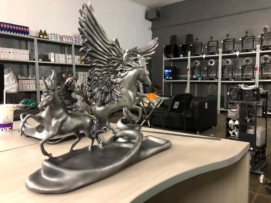 печать на 3d принтере индивидуального подарка