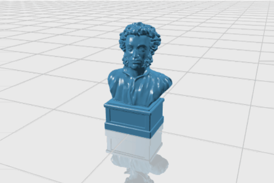 3d-model-pushkin